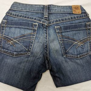 Jean denim pants crop BKE Buckle petite 0 25 Capri
